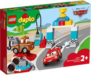 Giocattolo LEGO DUPLO Cars (10924). Il giorno della gara di Saetta McQueen LEGO