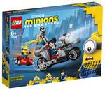 LEGO Minion (75549). Moto da inseguimento