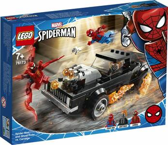 Giocattolo LEGO Super Heroes (76173). Spider-Man and Ghost Rider vs Carnage LEGO