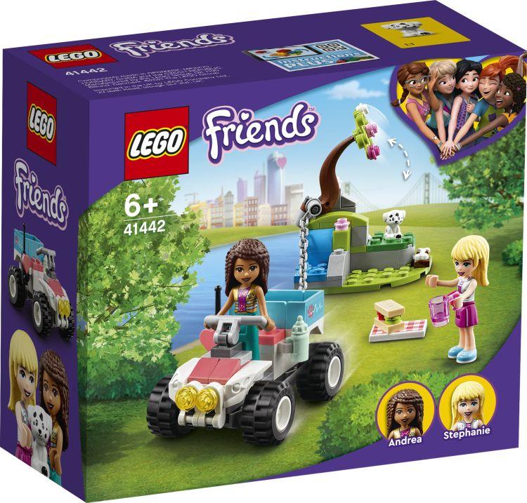 Image of LEGO Friends (41442). Il buggy di soccorso della clinica veterinaria