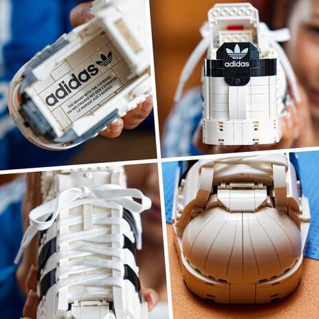 LEGO Icons (10282). Adidas Originals Superstar, Costruzione in Mattoncini, Sneaker da Collezione per Adulti - 5