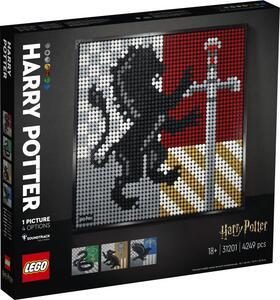 Giocattolo LEGO ART (31201). Harry Potter Hogwarts Crests LEGO