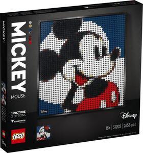 Giocattolo LEGO ART (31202). Disney's Mickey Mouse LEGO