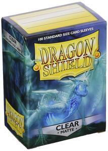 Dragon Shield. Matte Clear. 100 bustine protettive