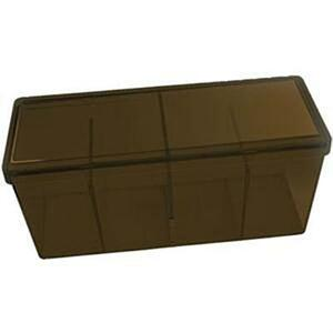 DRAGON SHIELD Four Compartment Box Scatola porta carte a 4 scomparti capienza 300 carte imbustate Brown