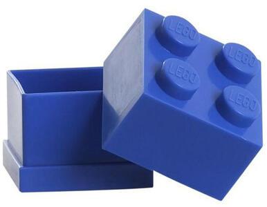 Contenitore LEGO Mini Box 4 Blu
