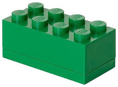 Contenitore LEGO Mini Box 8 Verde - 2