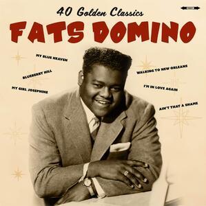 40 Golden Hits - Vinile LP di Fats Domino