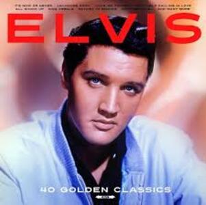 40 Golden Hits - Vinile LP di Elvis Presley
