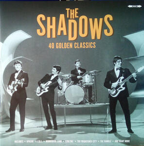 40 Golden Hits - Vinile LP di Shadows