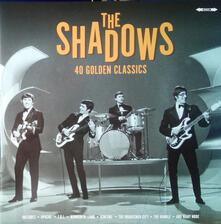 40 Golden Hits - Vinile LP di Shadows