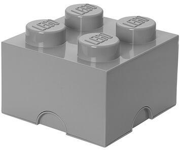 Contenitore LEGO Brick 4 Grigio