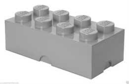 Idee regalo Contenitore LEGO Brick 8 Grigio Lego