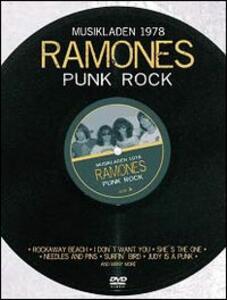 Ramones. Punk Rock Live 1978 - DVD