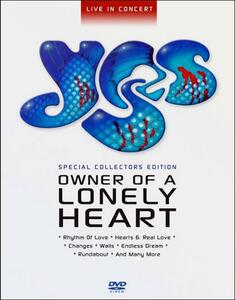 Yes. Owner of A Lonely Heart - DVD