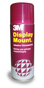 Adesivo riposizionabile Display Mount 3M trasparente
