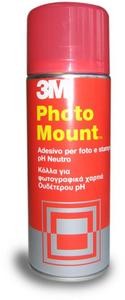 Cartoleria 3M Photo Mount adesivo spray altà qualità e trasparente 3M 0