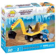 Costruzioni Cobi. Action Town 1671. Mini Excavator 50