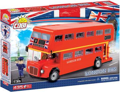 Cobi. Action Town. 1885 Double Decker Red Bus 480 Pz
