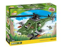 Cobi. Small Army 2158. Wild Warrior Attack Helicopter 200 Pz