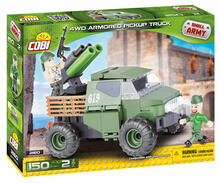 Cobi. Small Army 2160. Awd Armored Pickup Truck 150 Pz