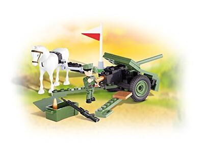 Costruzioni Cobi. Small Army 2184. 37 Mm Wz. 36 Cannone Bofors 80 - 12