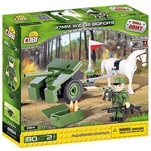Costruzioni Cobi. Small Army 2184. 37 Mm Wz. 36 Cannone Bofors 80 - 13