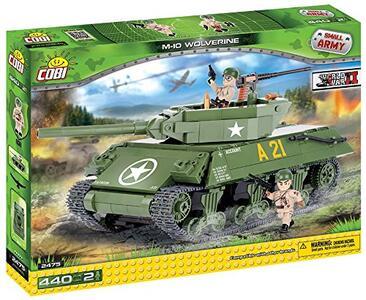 Costruzioni Cobi. Small Army 2475. M10 Wolverine 440