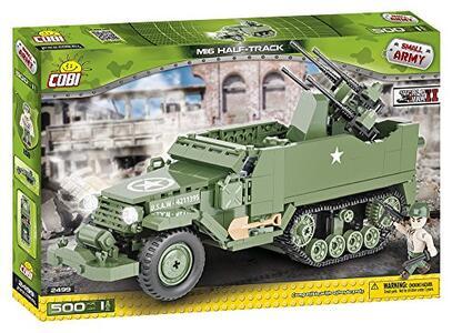 Costruzioni Cobi. Small Army 2499. M16 Half-Track 500 - 8