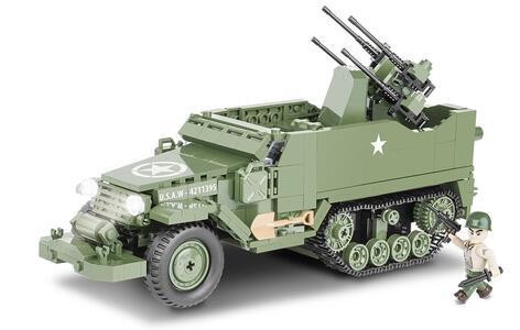 Costruzioni Cobi. Small Army 2499. M16 Half-Track 500 - 20