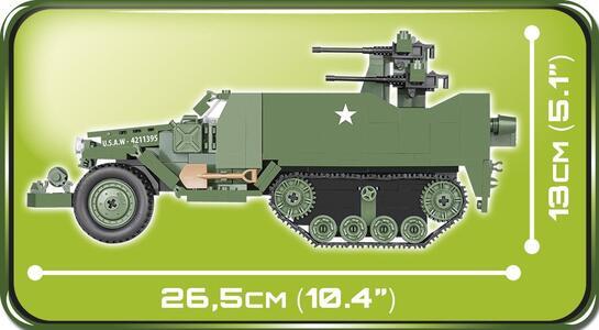 Costruzioni Cobi. Small Army 2499. M16 Half-Track 500 - 23