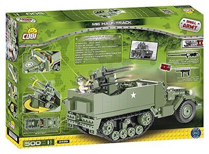 Costruzioni Cobi. Small Army 2499. M16 Half-Track 500 - 12
