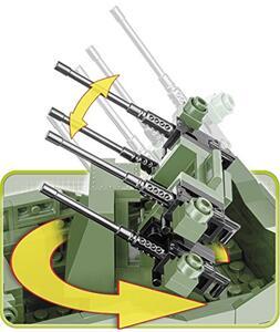 Costruzioni Cobi. Small Army 2499. M16 Half-Track 500 - 14