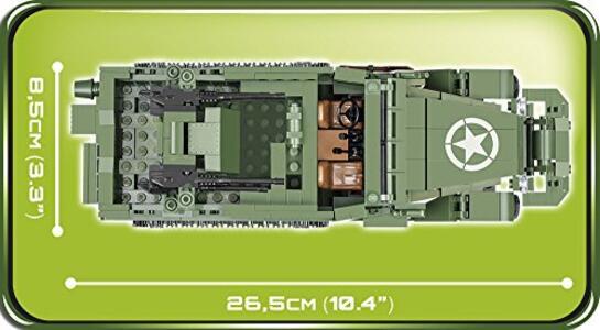 Costruzioni Cobi. Small Army 2499. M16 Half-Track 500 - 17