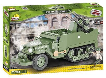 Costruzioni Cobi. Small Army 2499. M16 Half-Track 500 - 18