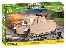 555 Pcs Small Army/2514/Sd.Kfz166 Sturmpanzer