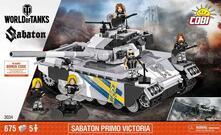 World Of Tanks. Sabaton Primo Victoria. 672 Pcs