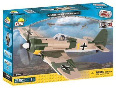 Costruzioni Cobi. Small Army 5514. Focke Wulf Fw 190 255