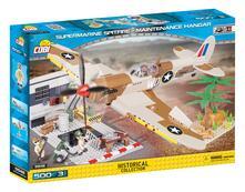Cobi. Historical Collection 5546. Spitfire Con Hangar 500 Pz