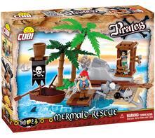 Cobi. Pirates 6023. Mermaid Rescue 140 Pz