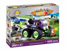 Costruzioni Cobi. Monster Trux 20055. Purple Pull Back 200