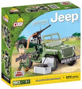 Costruzioni Cobi. Jeep 24092. Jeep Willys Mb 90 - 2