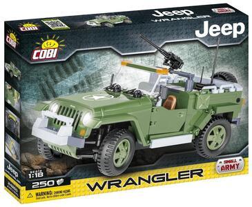Costruzioni Cobi Small Army Jeep Wrangler Militare 250 Pz - 2
