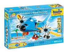 Costruzioni Cobi. Penguins 26302. Kowalski'S Royal Rescue 330