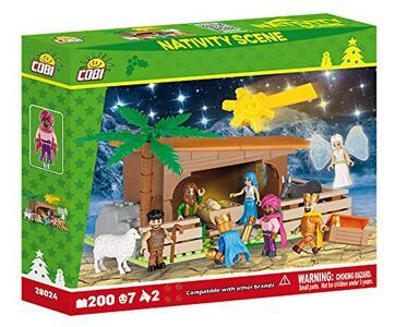 Costruzioni Cobi. Nativity Set 28024. Presepe Luminescente 200