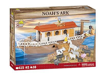 Costruzioni Cobi. Religious Set 28026. Noah'S Ark 420