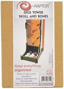 Dice Tower Skull And Bones