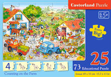 Castorland Counting on the Farm 25 pcs Puzzle 25 pezzo(i)