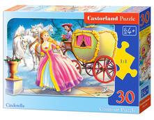 Castorland Cinderella 30 pcs Puzzle di contorno 30 pezzo(i)