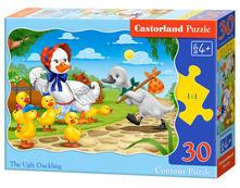 Castorland The Ugly Duckling 30 pcs Puzzle di contorno 30 pezzo(i)